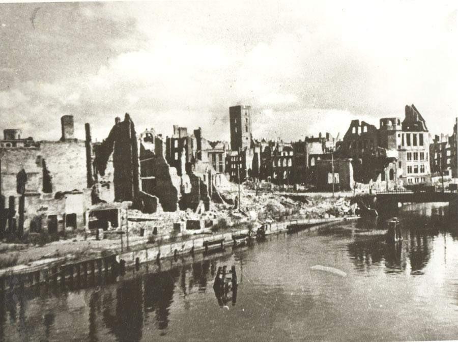 Город руин. Послевоенный Калининград.