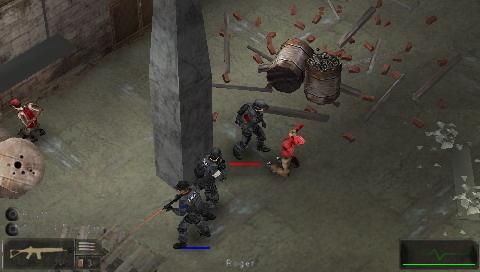 SWAT: Target Liberty (2007) PSP