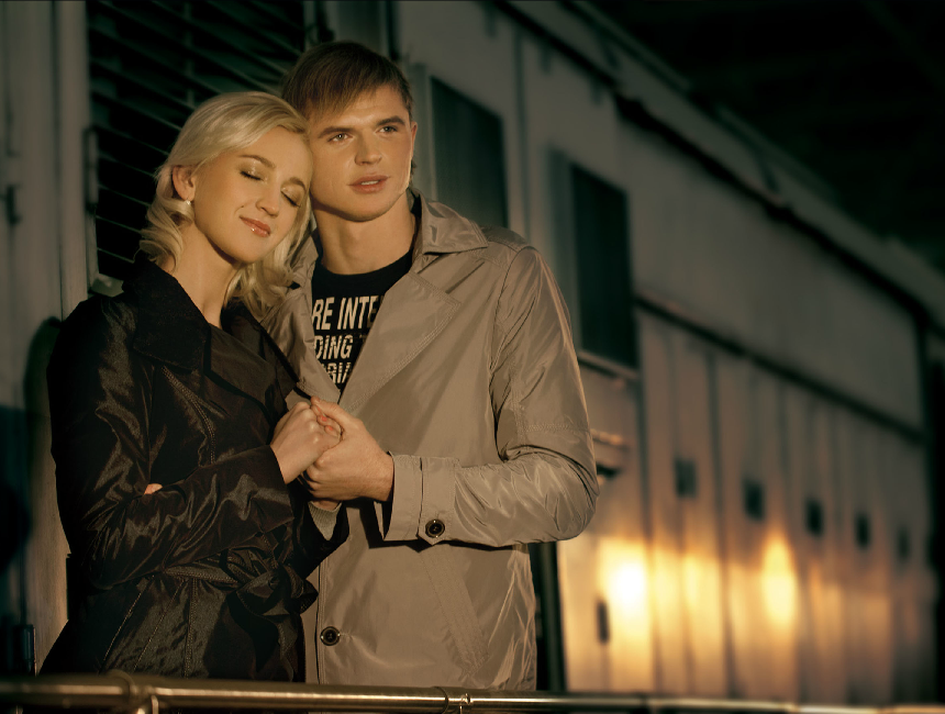 Natalie S. Ольга Бузова с мужем Дмитрием Тарасовым Для рекламы фирмы