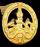 Золотой значок