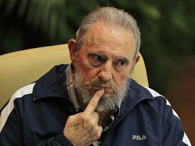 """Фидель Кастро вышел """"в свет"""""""
