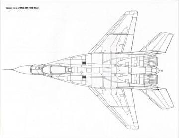 МиГ-29К (9-31) - палубный истребитель 0MPzd