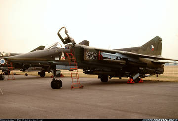 МиГ-23БН (32-23) - истребитель-бомбардировщик 1FePH