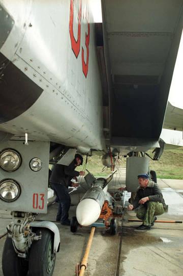 Р-33 - управляемая ракета большой дальности 2Ud8V