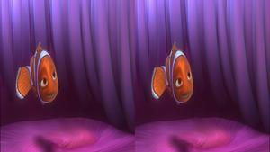 В поискaх Немо в 3Д / Finding Nemо 3D  Горизонтальная анаморфная