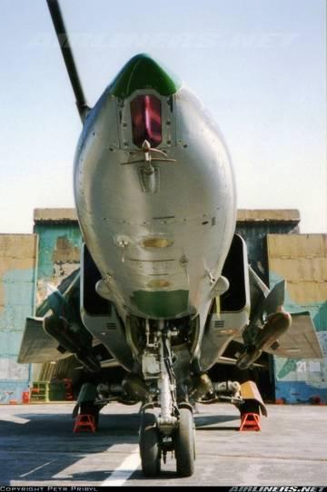 МиГ-23БН (32-23) - истребитель-бомбардировщик 82VBv