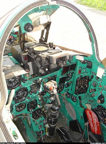 МиГ-23БН (32-23) - истребитель-бомбардировщик AjUSH