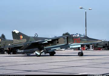 МиГ-23БН (32-23) - истребитель-бомбардировщик FHKtS