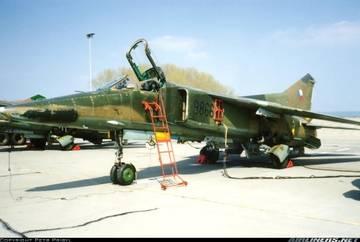 МиГ-23БН (32-23) - истребитель-бомбардировщик GEVZU