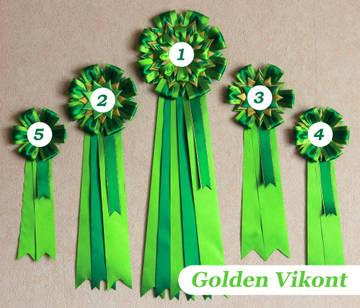 Наградные розетки на заказ от Golden Vikont LJitU