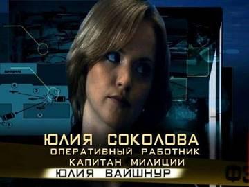 Юлия Вайшнур - Форумная ролевая игра по сериалу