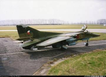 МиГ-23БН (32-23) - истребитель-бомбардировщик PKyWo