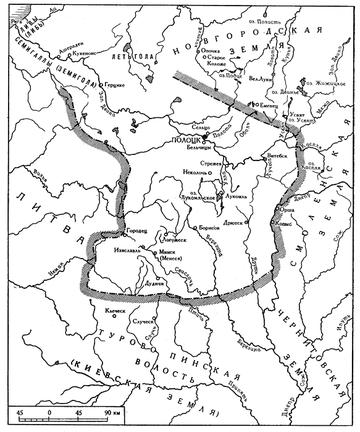 ПОЛАЦК на реке ПАЛАДА