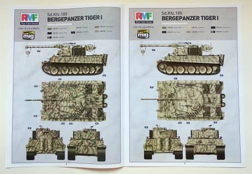 QtdJI 1:35 Bergepanzer Tiger I von Rye Field Model RM-5008.