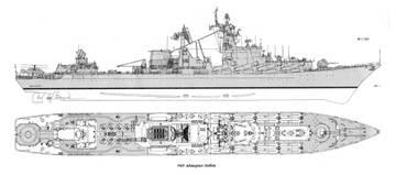 Проект 1164 ''Атлант'' - ракетный крейсер TdgZU