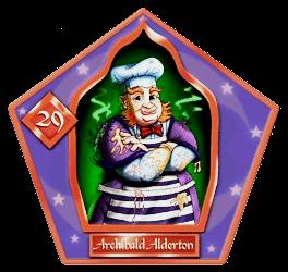 #29.  Арчибальд Алдертон