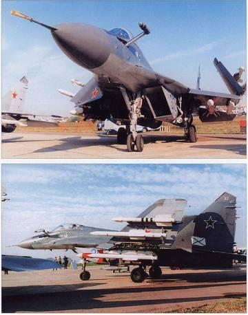 МиГ-29К (9-31) - палубный истребитель YfBWH