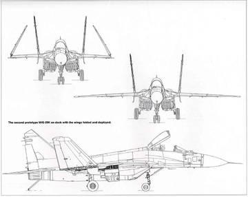 МиГ-29К (9-31) - палубный истребитель ZgRi9