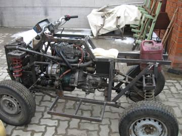 Квадроцикл 4х4 своими руками из оки