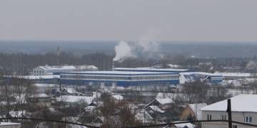 Обвал крыши на Петушинском металлическом заводе